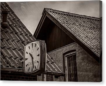Out Of Time Canvas Print by Odd Jeppesen
