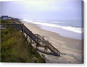 Outer Banks Canvas Print by Patrick  Flynn