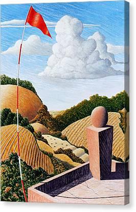 Outlook Canvas Print by Adrian Jones