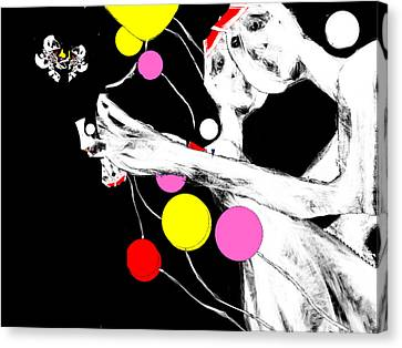 Outside Oneself Canvas Print by Ruth Clotworthy