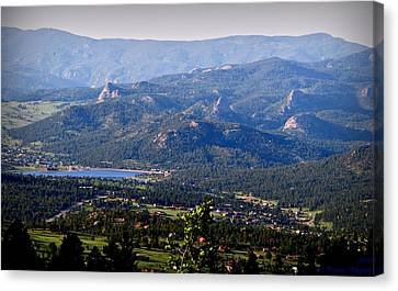 Over Estes Canvas Print by Aaron Burrows