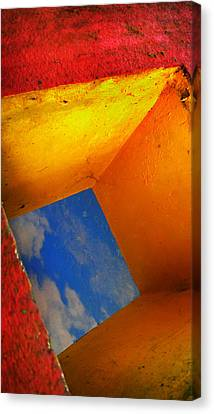 Over The Rainbow Canvas Print by Skip Hunt