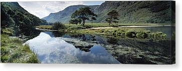 Owenveagh River, Glenveagh National Canvas Print by The Irish Image Collection