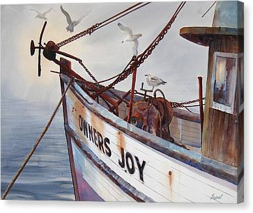 Owners Joy Canvas Print by Don Trout