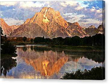 Oxbow Bend Canvas Print by Marty Koch