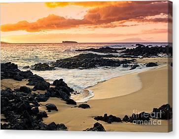 Paako Beach Dreams Canvas Print by Sharon Mau