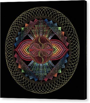 Pachamama Canvas Print by Keiko Katsuta