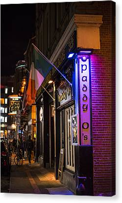 Paddy O's Boston Ma Canvas Print by Toby McGuire