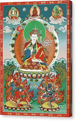 Padmasambhava Canvas Print by Sergey Noskov