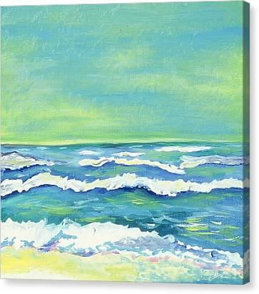Padre Island Texas Canvas Print by Manny  Chapa