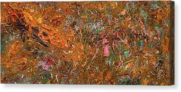 Paint Number 19 Canvas Print by James W Johnson