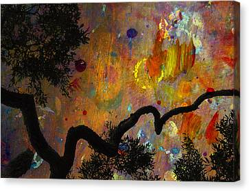 Painted Skies Canvas Print by Jan Amiss Photography
