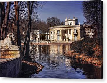 Palace On The Water  Canvas Print by Carol Japp