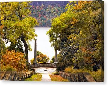 Palisades Vista Canvas Print by Jessica Jenney