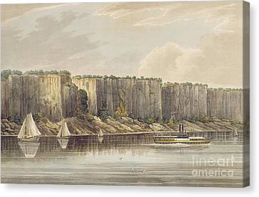 Palisades Canvas Print by William Guy Wall