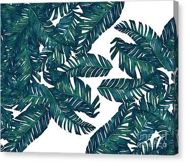 Palm Tree 7 Canvas Print by Mark Ashkenazi