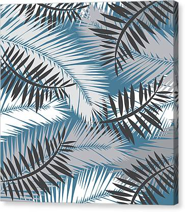 Palm Trees 10 Canvas Print by Mark Ashkenazi