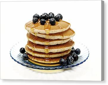 Pancakes Canvas Print by Glennis Siverson