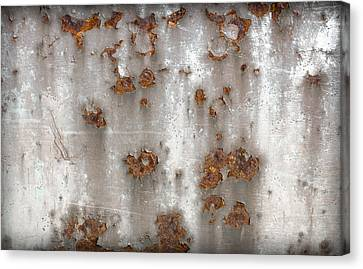 Panel Rusty Metal Canvas Print by Germano Poli