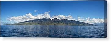 Panoramic West Maui Canvas Print by Dave Fleetham - Printscapes