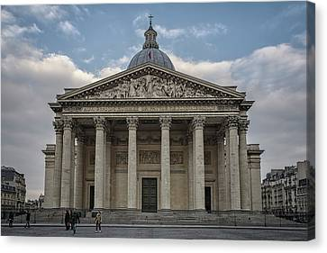 Pantheon Paris Canvas Print by Joan Carroll