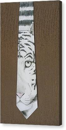 Panthera Tigris Canvas Print by David Kelly