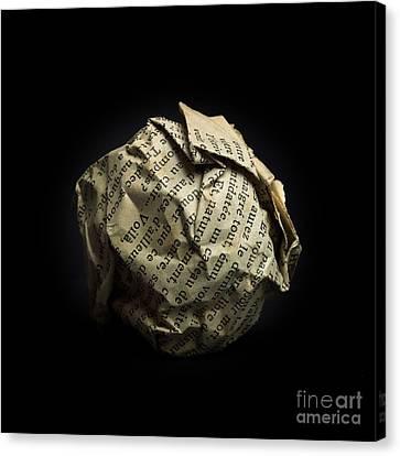 Paper Canvas Print by Bernard Jaubert