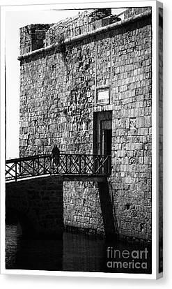 Paphos Castle Canvas Print by John Rizzuto