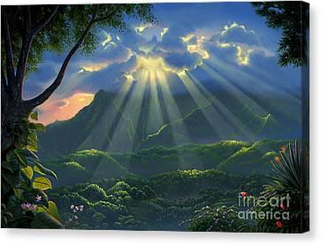 Paradise Found Canvas Print by Al Hogue