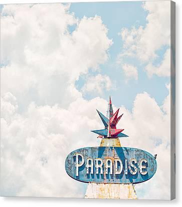 Paradise Canvas Print by Humboldt Street