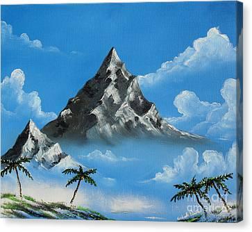 Paradise Lost  Canvas Print by Joseph Palotas
