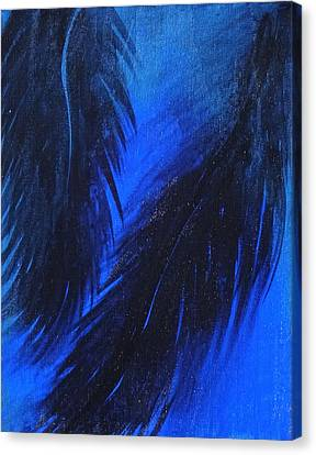 Paradise Night Canvas Print by Erica Seckinger