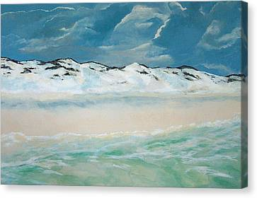 Paradise Canvas Print by Racquel Morgan
