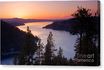 Paradise View Canvas Print by Idaho Scenic Images Linda Lantzy