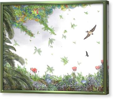 Paradise Without War Canvas Print by RSVPalmer