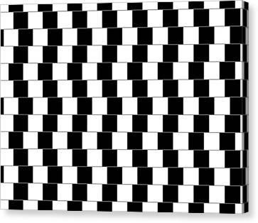Parallel Lines Canvas Print by Michael Tompsett