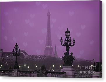 Paris Canvas Print by Juli Scalzi