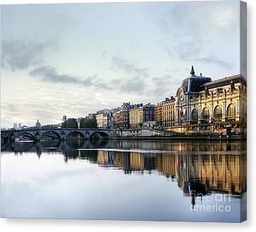 Paris Musee D'orsay Canvas Print by Vicky Ceelen