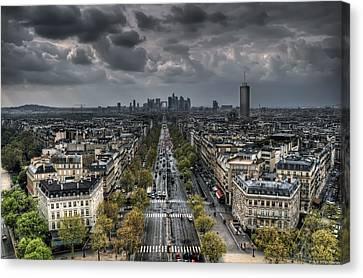 Paris No. 2 Canvas Print by Ryan Wyckoff