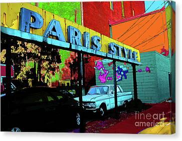 Paris Style Canvas Print by Jost Houk
