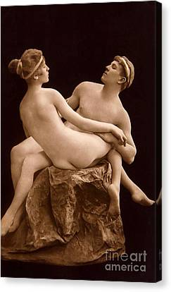 Parisian Nudes, 1923 Canvas Print by French School