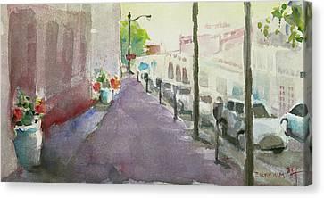 Park Avenue 3 Canvas Print by Becky Kim