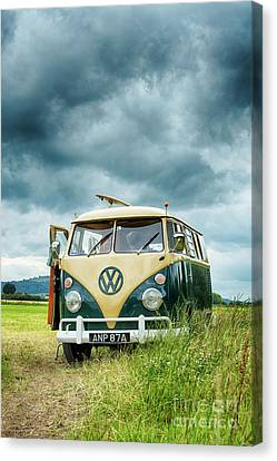 Parked Up Canvas Print by Tim Gainey