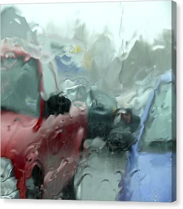 Parking Lot Canvas Print by Mike McGlothlen