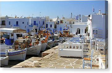 Paros Canvas Print by Christo Christov