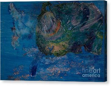Parrot Fish Canvas Print by Lillian Michi Adams