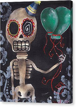 Party Killer Canvas Print by  Abril Andrade Griffith