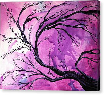 Passage Through Time By Madart Canvas Print by Megan Duncanson