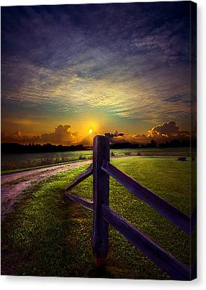 Passing Canvas Print by Phil Koch