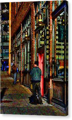 Passing Time Canvas Print by David Patterson